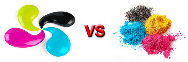 Сравнение лазерной и струйной технологий печати