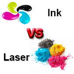 Струйная и лазерная технологии печати