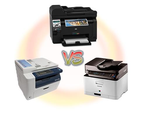 HP, Samsung или Xerox