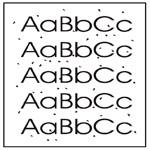 Барханы и черные пятна при печати на картридже HP CE285A