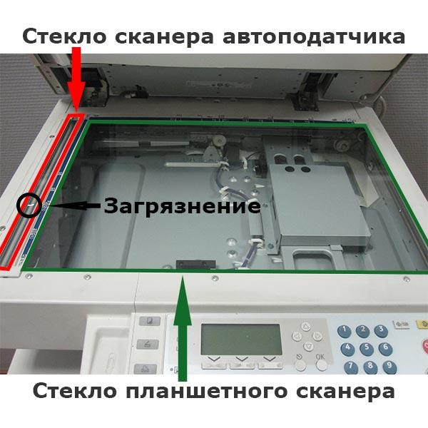 Сканер лазерного многофункционального устройства