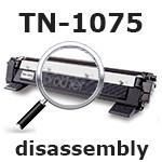 Разборка и сборка картриджа Brother TN-1075