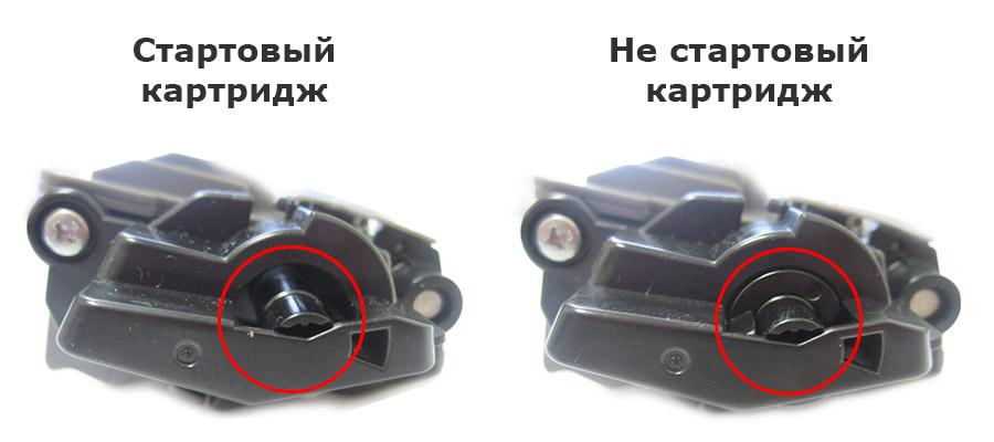 Сравнение стартового и покупного картриджей Brother TN-241Bk