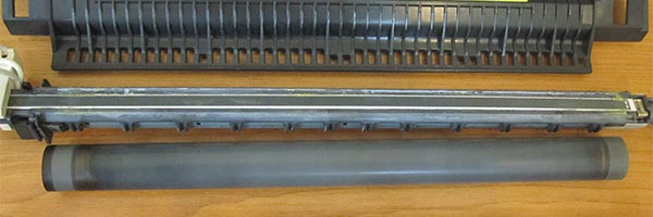 Чистка нагревательного элемента печки принтера Canon LBP 2900