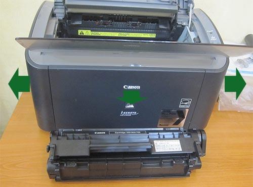 Разбор принтера Canon LBP 2900
