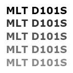 Бледная печать на картриджах Samsung MLT D101S