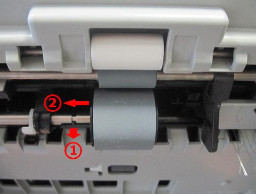 Замена ролика захвата бумаги Samsung SCX-4833